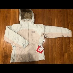 The North Face Inlux Insulated Jacket Ivory NWT